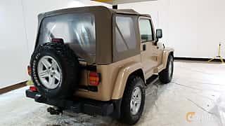 Bak/Sida av Jeep Wrangler 4.0 V6 4WD Automatic, 177ps, 2000