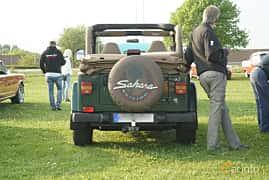 Bak av Jeep Wrangler 4.0 4WD Automatic, 169ps, 1999 på Tisdagsträffarna Vikingatider v.21 / 2017