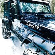 Närbild av Jeep Wrangler 4.0 V6 4WD Automatic, 177ps, 2006