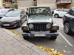 Fram av Jeep Wrangler 4.0 V6 4WD Automatic, 177ps, 1997