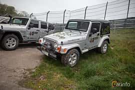 Fram/Sida av Jeep Wrangler 4.0 V6 4WD Automatic, 177ps, 2006 på Lucys motorfest 2019