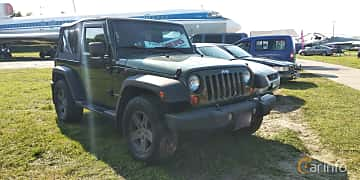 Front/Side  of Jeep Wrangler 3.8 V6 4WD 199ps, 2007 at Old Car Land no.1 2019