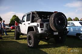 Bak/Sida av Jeep Wrangler Unlimited 2.8 4WD Automatic, 200ps, 2012 på Tisdagsträffarna Vikingatider v.21 / 2018