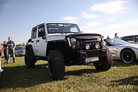 Fram/Sida av Jeep Wrangler Unlimited 2.8 4WD Automatic, 200ps, 2012 på Tisdagsträffarna Vikingatider v.21 / 2018