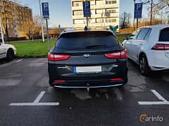 Back of Kia Optima Sport Wagon Hybrid P-HEV 2.0 Hybrid Automatic, 205ps, 2018