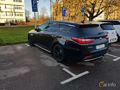 Back/Side of Kia Optima Sport Wagon Hybrid P-HEV 2.0 Hybrid Automatic, 205ps, 2018