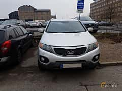 Front  of Kia Sorento 2.2 CRDi 4WD Automatic, 197ps, 2012