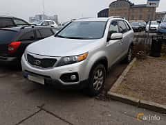 Front/Side  of Kia Sorento 2.2 CRDi 4WD Automatic, 197ps, 2012