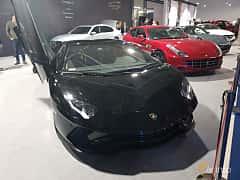 Front/Side  of Lamborghini Aventador 2011 at Warsawa Motorshow 2018