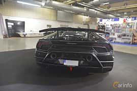 Back of Lamborghini Huracán Performante 5.2 V10 DCT, 640ps, 2018 at Bilsport Performance & Custom Motor Show 2019