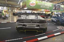 Back of Lamborghini Huracán LP 620-2 Super Trofeo 5.2 V10 Sequential, 620ps, 2015 at Bilsport Performance & Custom Motor Show 2019
