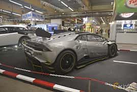 Back/Side of Lamborghini Huracán LP 620-2 Super Trofeo 5.2 V10 Sequential, 620ps, 2015 at Bilsport Performance & Custom Motor Show 2019