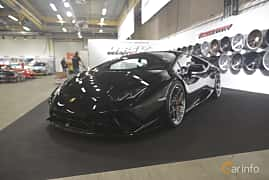 Front/Side  of Lamborghini Huracán Performante 5.2 V10 DCT, 640ps, 2018 at Bilsport Performance & Custom Motor Show 2019