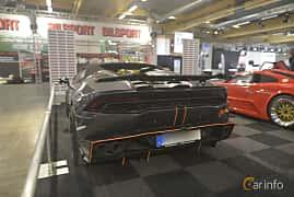 Back/Side of Lamborghini Huracán LP 610-4 Spyder 5.2 V10  DCT, 610ps, 2016 at Bilsport Performance & Custom Motor Show 2019