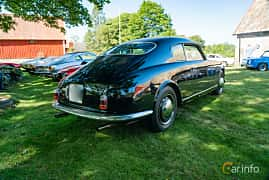 Back/Side of Lancia Aurelia Berlina 2.3 V6 Manual, 87ps, 1955 at Sportbilsklassiker Stockamöllan 2019