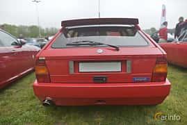Bak av Lancia Delta Integrale Evoluzione 2.0 4WD Manual, 210ps, 1992 på Italienska Fordonsträffen - Krapperup 2019