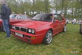 Fram/Sida av Lancia Delta Integrale Evoluzione 2.0 4WD Manual, 210ps, 1992 på Italienska Fordonsträffen - Krapperup 2019