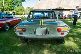 Back of Lancia Fulvia Coupé 1.3 V4 Manual, 87ps, 1968 at Sportbilsklassiker Stockamöllan 2019