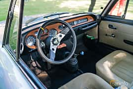 Interior of Lancia Fulvia Coupé 1.3 V4 Manual, 87ps, 1968 at Sportbilsklassiker Stockamöllan 2019