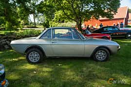 Side  of Lancia Fulvia Coupé 1.3 V4 Manual, 87ps, 1968 at Sportbilsklassiker Stockamöllan 2019