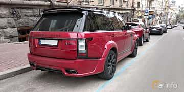 Bak/Sida av Land Rover Range Rover 5.0 V8 4WD Automatic, 550ps, 2017