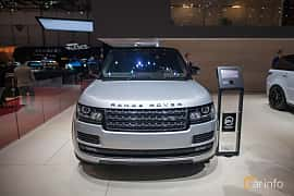 Front  of Land Rover Range Rover 5.0 V8 4WD Automatic, 550ps, 2017 at Geneva Motor Show 2017