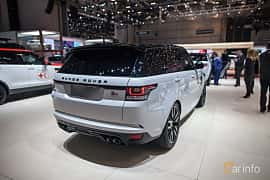 Bak/Sida av Land Rover Range Rover Sport SVR 5.0 V8 4WD Automatic, 550ps, 2017 på Geneva Motor Show 2017