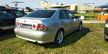Back/Side of Lexus IS 200 2.0 Manual, 155ps, 2000 at Old Car Land no.1 2019