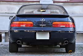 Back of Lexus SC 400 4.0 V8 Automatic, 253ps, 1993
