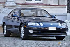 Front/Side  of Lexus SC 400 4.0 V8 Automatic, 253ps, 1993