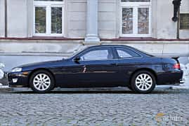 Side  of Lexus SC 400 4.0 V8 Automatic, 253ps, 1993
