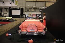 Bak av Lincoln Capri Convertible 5.2 V8 Automatic, 228ps, 1955 på Bilsport Performance & Custom Motor Show 2019