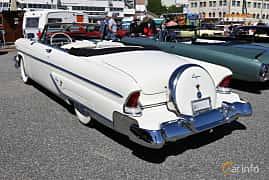 Bak/Sida av Lincoln Capri Convertible 5.2 V8 Automatic, 228ps, 1955 på Cruising Lysekil 2019