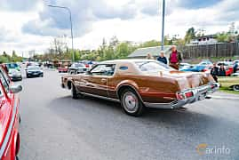 Back/Side of Lincoln Continental Mark IV 7.5 V8 Automatic, 211ps, 1973 at Vårcruising Järna 2019