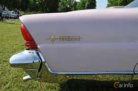 Close-up of Lincoln Premiere 2-door Hardtop 6.0 V8 Automatic, 279ps, 1956 at Hässleholm Power Start of Summer Meet 2016