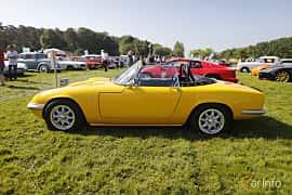 Side  of Lotus Elan Roadster 1.5 Manual, 116ps, 1966 at Tjolöholm Classic Motor 2018