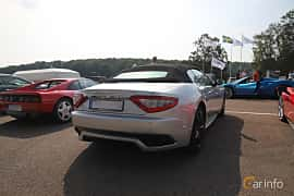 Back/Side of Maserati GranCabrio Sport 4.7 V8  Automatic, 450ps, 2012 at Autoropa Racing day Knutstorp 2019