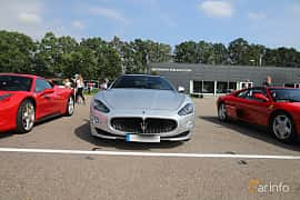 Front  of Maserati GranCabrio Sport 4.7 V8  Automatic, 450ps, 2012 at Autoropa Racing day Knutstorp 2019