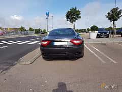 Back of Maserati GranTurismo 4.2 V8  Automatic, 411ps, 2008