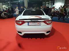 Back of Maserati GranTurismo 2007 at Warsawa Motorshow 2018
