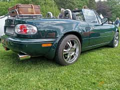 Back/Side of Mazda MX-5 1.6 Manual, 90ps, 1996 at Sofiero Classic 2019
