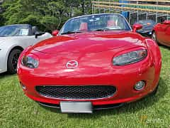 Front  of Mazda MX-5 Soft-top 2.0 Manual, 160ps, 2006 at Sofiero Classic 2019