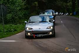 Front  of Mazda MX-5 1.8 Manual, 146ps, 2002 at Svenskt sportvagnsmeeting 2019