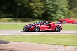 Side  of McLaren 650S 3.8 V8 DCT, 650ps, 2015 at Autoropa Racing day Knutstorp 2015