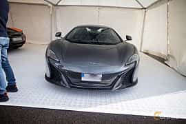Front  of McLaren 650S Spider 3.8 V8 DCT, 650ps, 2015 at Autoropa Racing day Knutstorp 2015
