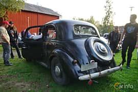 Back/Side of Mercedes-Benz 170 V 4-door Sedan  Manual, 38ps, 1950 at Onsdagsträffar på Gammlia Umeå 2019 vecka 35