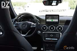 Interiör av Mercedes-Benz A 200 d  7G-DCT, 136ps, 2017