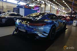 Bak/Sida av Mercedes-Benz AMG GT S  AMG Speedshift DCT, 510ps, 2015 på Bilsport Performance & Custom Motor Show 2019