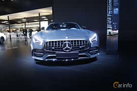 Fram av Mercedes-Benz AMG GT C 4.0 V8 AMG Speedshift DCT, 557ps, 2018 på North American International Auto Show 2017