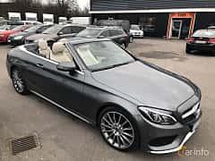 Fram/Sida av Mercedes-Benz C 180 Cabriolet 1.6 9G-Tronic, 156ps, 2017